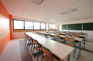 salle de classe college Saint Francois Annecy agrandie 300x199 Journal dune professeure