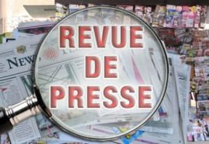 revue de presse 300x207 Dans la presse aujourdhui