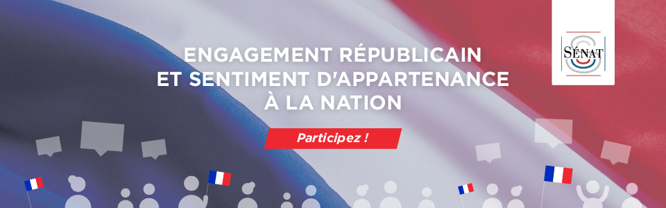 Engagement républicain et sentiment d'appartenance à la Nation