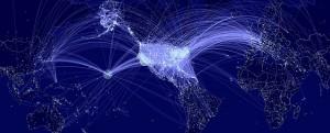 contagion map 300x121 Les grands hubs mondiaux et les risques de pandémies